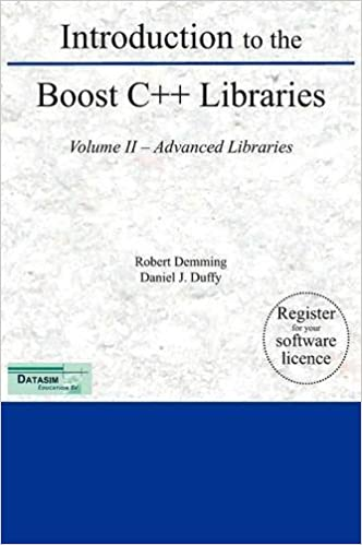 Amazon com: Introduction to the Boost C++ Libraries