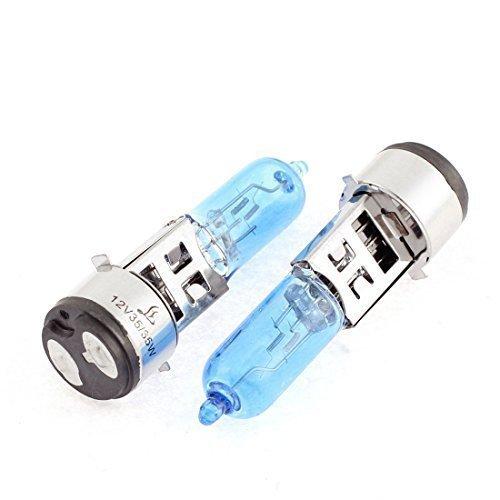 10 Stück Energiesparlampe Lampe Weiß 12V 35W HID Xenon Scheinwerferlampe, für Motorrad