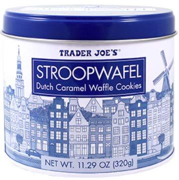 Trader Joe's Dutch Stroopwafel Caramel Waffle Cookies