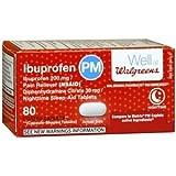 Walgreens Ibuprofen Pm 200Mg Caplets, 80 ea