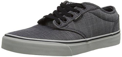 Vans Atwood, Men's Low-Top Sneakers Textile Black/Grey