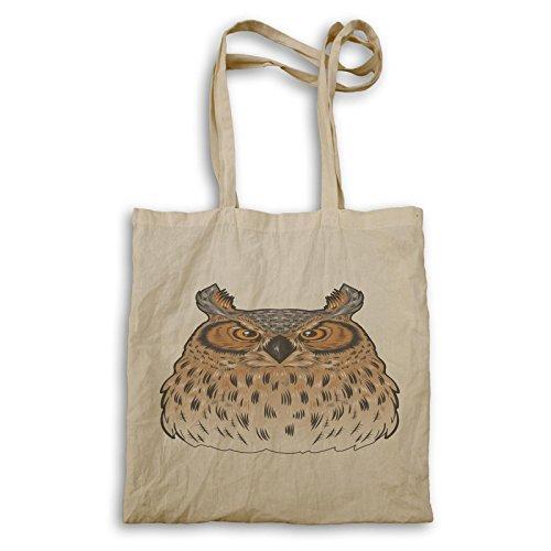 Novità Owl Funny Drawing Free Carrying Bag A700r