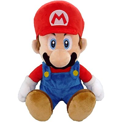 "Nintendo Official Super Mario Plush, 12"" Large: Toys & Games"
