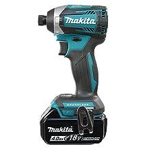 """Makita DTD154RME 18V LXT Brushless 1/4"""" Impact Driver 4.0Ah Kit"""