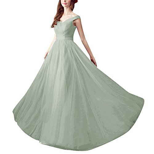 Elegant A S H D Prom Gowns Line Pleated Bridesmaid Women's Silver Dresses Long SItSAdx