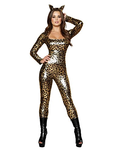 [Sexy Leopard Costume - Medium - Dress Size 6] (Sexy Leopard Costumes)