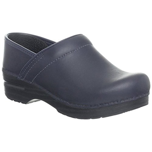 Dansko Professional Women Mules & Clogs Shoes Blueberry Oiled Size 38