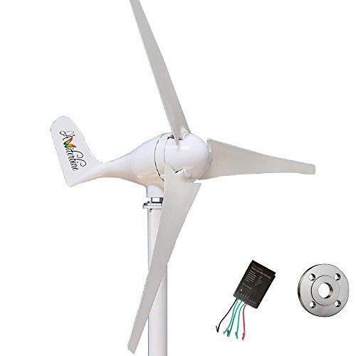 Wonderful Online Wind Turbine Generator Kit 400Watt 12V +Controller+Flange