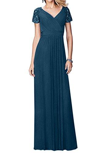 Promkleider Blau Braut Tinte Brautmutterkleider Traumhaft ...