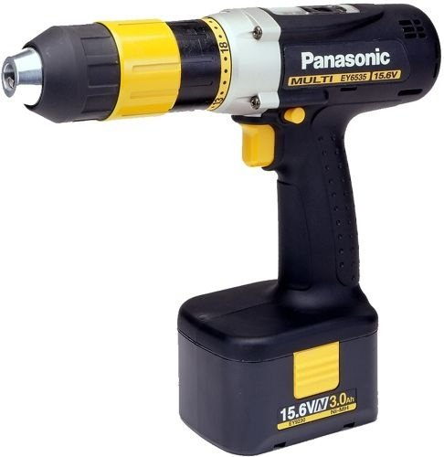 PANASONIC EY6535 Cordless Multi Drill & Driver set IN CASE with battery pack and battery charger