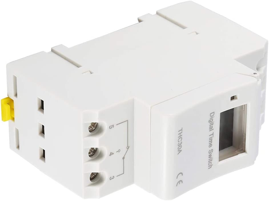 SANON Thc 30A Timer Digitale Programmabile Interruttore Elettronico di Controllo Del Tempo
