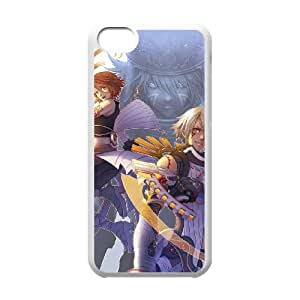 iphone5c White phone case Video Games .hackG.U VGS1748246