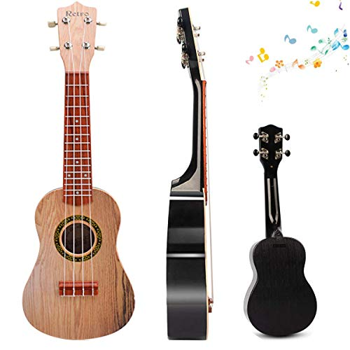 21 inch Kids Ukulele Guitar Mini Toy Children Musical Instruments Educational Learning Toys with Picks and Strap Keep…
