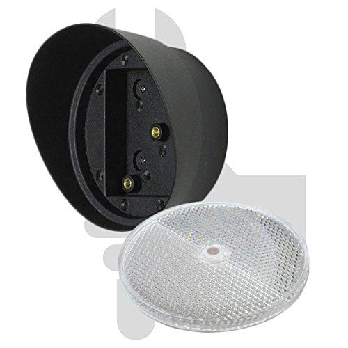 SECO-LARM Round reflector, Garage Door Opener Reflector & Hood, Factor 3000X Replacement Photocell Safety Beam Reflector