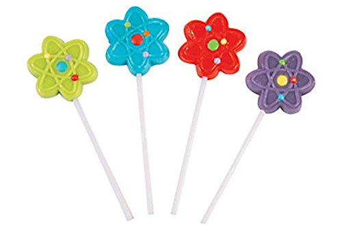12 Science party LOLLIPOPS