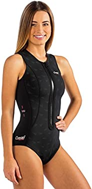Cressi TERMICO, Womens 2 mm Short Wetsuit for Swimming, Snorkeling, and Scuba Diving - Cressi: Quality Since 1