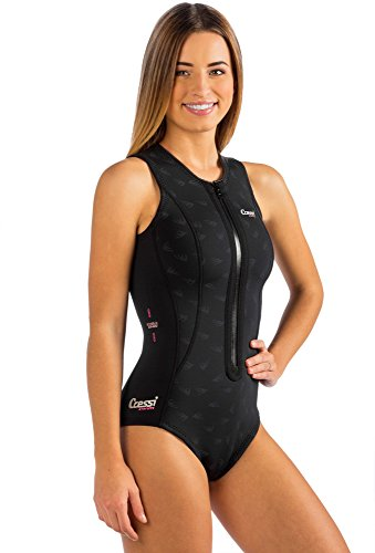 Termico Lady, black, 4/L - Swimsuit Womens Neoprene
