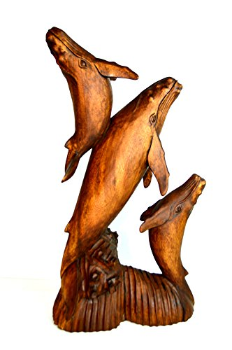 - Humpback Whale Huge Hand Carved Mahogany Humpback Whale Carving Sculpture Ocean Sea Nautical Decor
