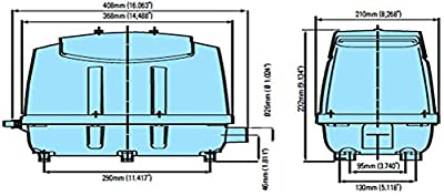 Medo LA-120 Piston Air Pump