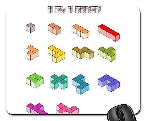 Mouse Pads - Tetris Computer Game Building Blocks Fun Game