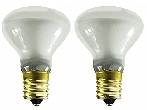 2Pack - Lava Replacement Light Bulb Lamp 25W watt R Type R20 25R14/N 120V (25 Watt Type A Light Bulb)