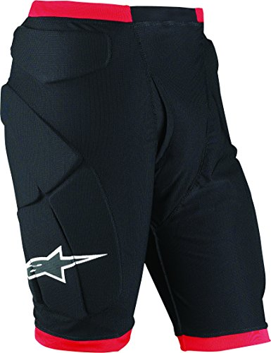Alpinestars Comp Pro Shorts (Black/Red, Small) -