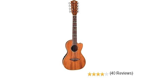 Luna Guitars UKEHTT8 - Ukelele tenor de 8 cuerdas, acabado ...