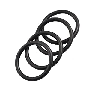 uxcell 4 Pcs 35mm x 3.5mm x 28mm Rubber Oil Sealing O Rings for Mechanical