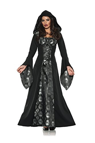 Women's Gothic Dress Costume - Skull Mistress (Mistress Costumes)