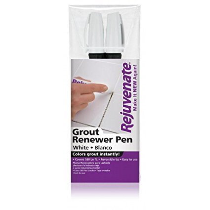 Rejuvenate White Grout Restorer Marker Pens 2-Pack