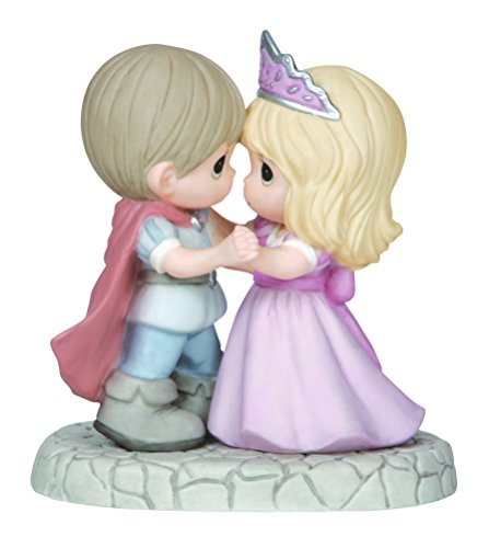 Precious Moments, You're My Happily Ever After, Bisque Porcelain Figurine, 144011