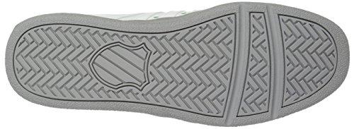 K-swiss Uomo Classico Vn Sneaker Blanc De Blanc / Ash