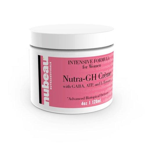 Nutra-GH CREME: WOMEN'S / FEMMES ANTI AGE HORMONE / GHRH SECRETAGOGUE / PERFORMANCE / ENERGIE / Métabolisme BOOSTER HOMEOPATHIQUE crème topique / GEL (~ 2 MOIS DOSE)