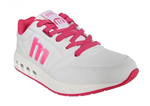 Zapatillas deporte de Mujer MTNG 69320 BLANCO-MESH FUCSIA