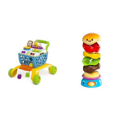 Giggling Gourmet 4-in-1 Shop 'n Cook Walker and Stack 'n Spin Burger