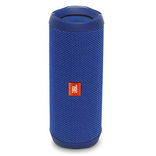 Price comparison product image JBL FLIP 4 IPX7 WATERPROOF WIRELESS PORTABLE BLUETOOTH RECHARGEABLE USB SPEAKER (Blue) (Certified Refurbished)