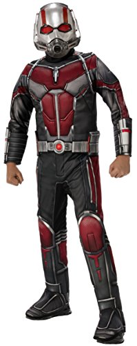 Rubie's Ant-Man Boy's Deluxe Ant-Man Costume, (Wasp Marvel Halloween Costume)