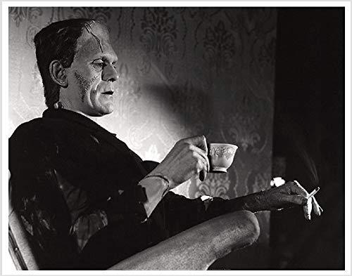 Even Monsters Need A Break (Frankenstein / Boris Karloff) 28
