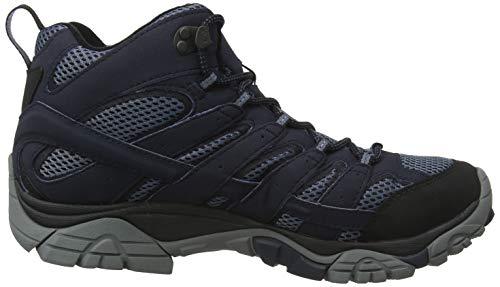 Hautes Merrell Chaussures Moab Navy 2 Randonnée GTX Bleu de Mid Homme wRqPgwZ