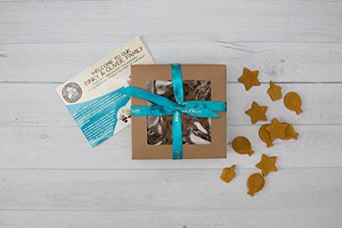 Bakery Box of Gourmet, Organic Dog Treats   Bite Size Box 5 oz. Packages with Peanut Butter & Pumpkin Recipe   All Natural, Organic Ingredients (Organic Gifts Delivered)