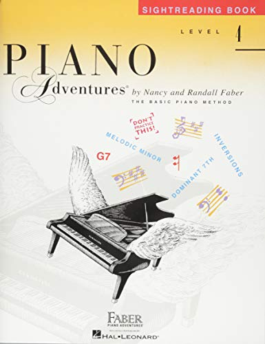 Level 4 - Sightreading Book: Piano Adventures ()