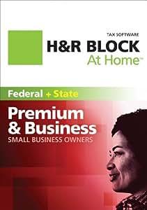 H&R Block At Home Premium & Business 2011 Win [Download]