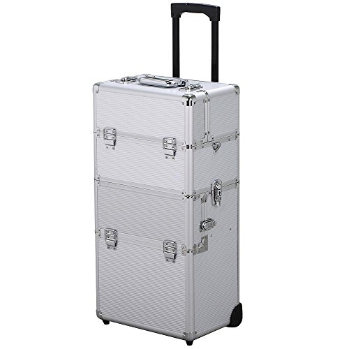 d3618cd6d7d4 We Analyzed 2,692 Reviews To Find THE BEST Makeup Case Beauty Trolley