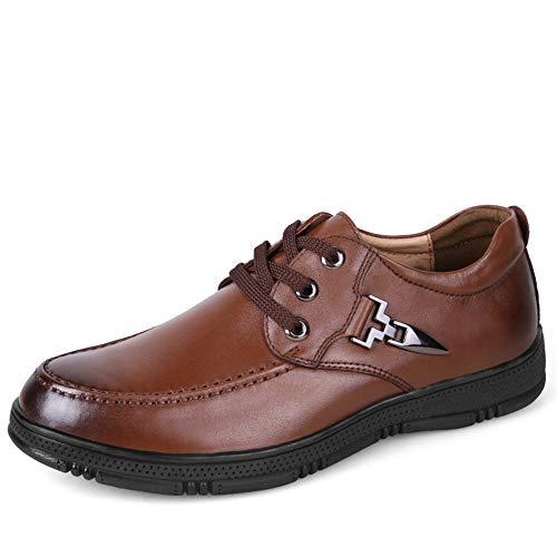 classiche traspiranti Scarpe 40 Scarpe Marrone casual dimensioni Xujw Color Stringate 2018 da Marrone Dimensione EU Oxford da e grandi morbide Basse shoes uomo uomo scarpe di qxHfw7