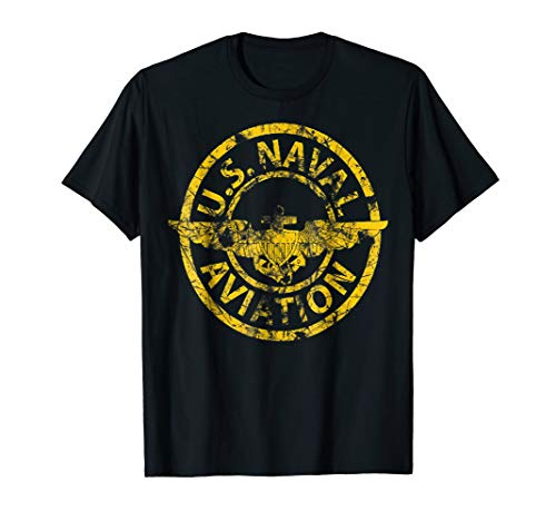 U.S. NAVY ORIGINAL NAVAL AVIATION VINTAGE GIFT T-SHIRT