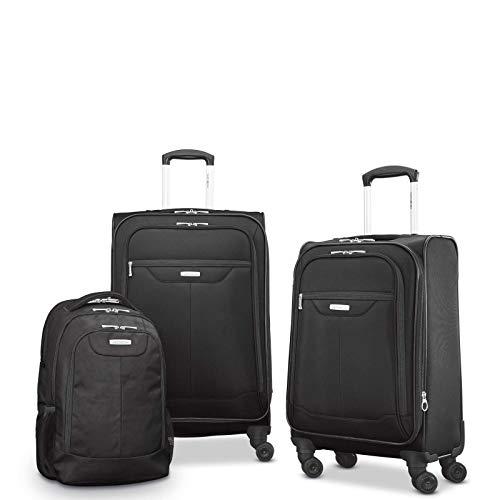 (Samsonite Tenacity 3 Piece Set - Luggage Black Color - Free Shipping)