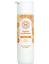 Honest Perfectly Gentle Hypoallergenic Conditioner With Naturally Derived Botanicals, Sweet Orange Vanilla, 10 Fluid Ounce