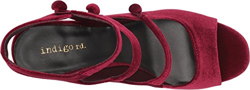 Indigo Rd. Womens Elita Pump Wine Velvet e87Bm3