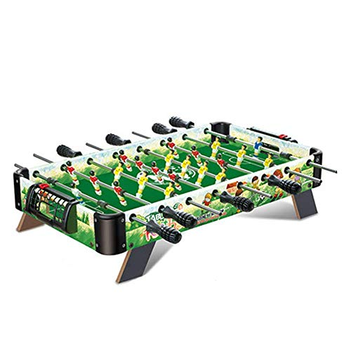 Table Soccer Foosballs/Tabletop Foosball,Deluxe Mini,Table Top Football,Foosball Family,Fun Gam,Suitable for People Over Three Years Old,Green
