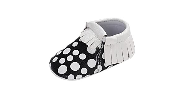 fe3705c939e64 Amazon.com : FEITONG Toddler Cute White Tassel Wave Point Children's ...